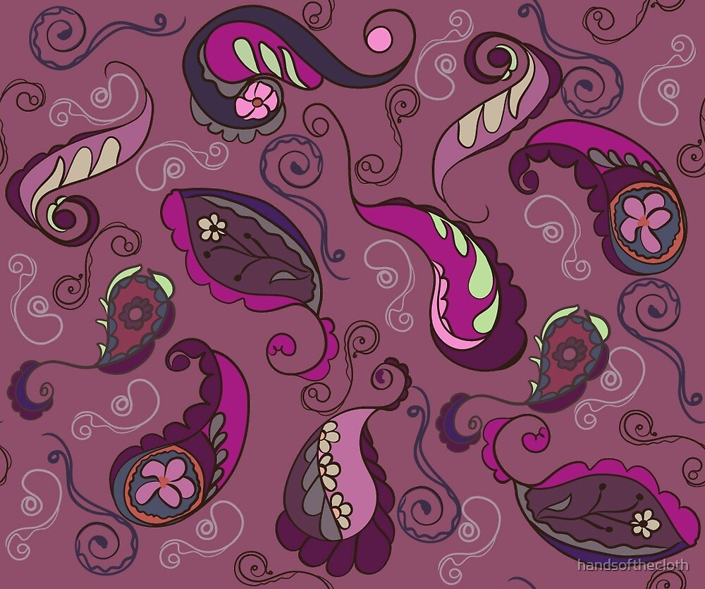 swirls and curls  by handsofthecloth