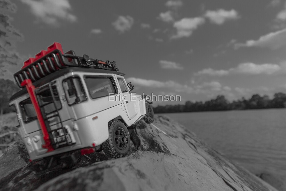 Big Boy Toy - River Overlook by Eric Johnson