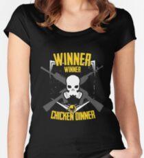 Winner Winner EMBLEM Women's Fitted Scoop T-Shirt