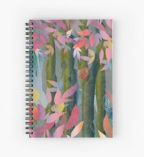Autumn by a Waterfall Spiral Notebook