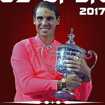 Us open champion Nadal by Mari54