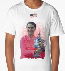 Us open champion Nadal Long T-Shirt