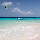 Kite Surfing, Atlantis Beach, Bonaire by Kasia-D