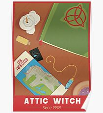 Charmed Poster - Attic Witch Poster