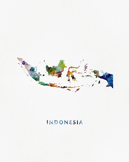 Indonesia by MonnPrint