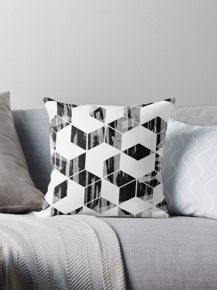 Elegant Black and White Geometric Design by oursunnycdays