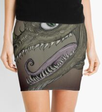 Dragon illustration Mini Skirt