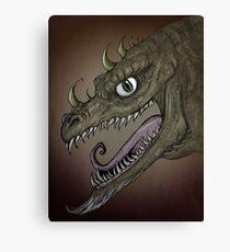 Dragon illustration Canvas Print