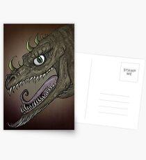 Dragon illustration Postcards