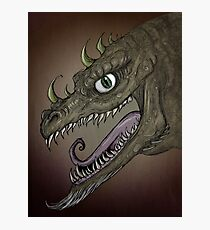 Dragon illustration Photographic Print