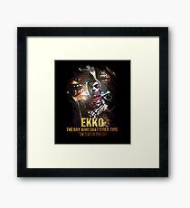 League of Legends EKKO Framed Print