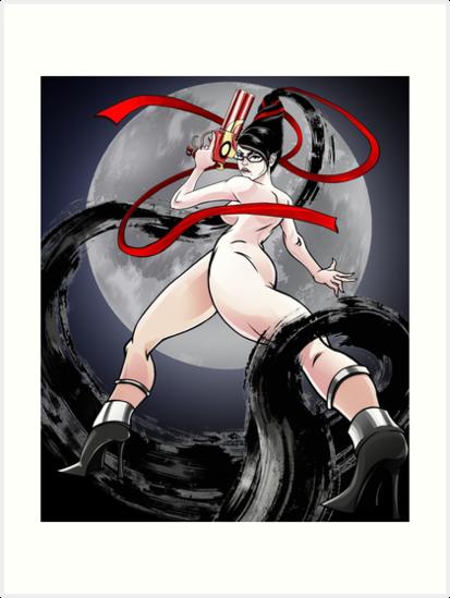 Lámina Artística Bayonetta De Jhansonart