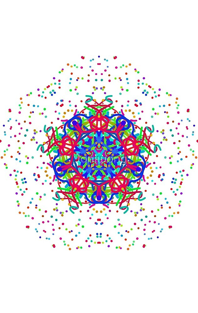 Kaleidoscope Art 4 by Joniwong