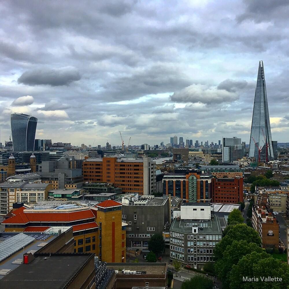 London Skyline  by Maria Vallette