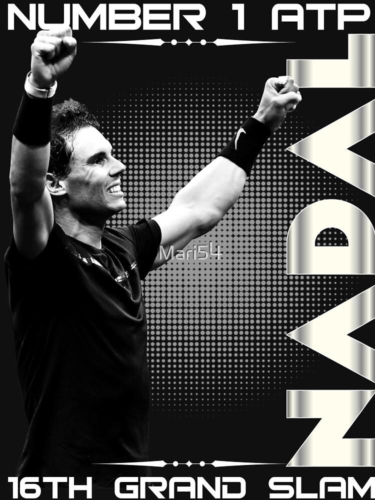 Rafa Nadal The Number One by Mari54
