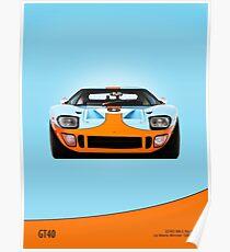 GT40 Mk 1 Poster