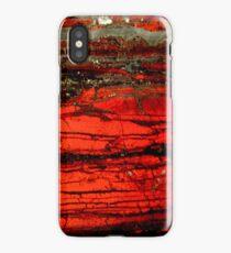 Red Granite iPhone Case/Skin