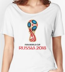 Russia World Cup 2018 Women's Relaxed Fit T-Shirt