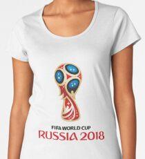 Russia World Cup 2018 Women's Premium T-Shirt