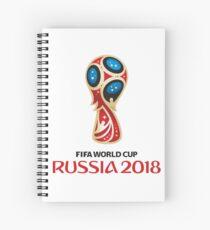 Russland-Weltmeisterschaft 2018 Spiralblock