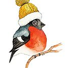 «Pájaro de Navidad Camachuelo» de Ruta Dumalakaite