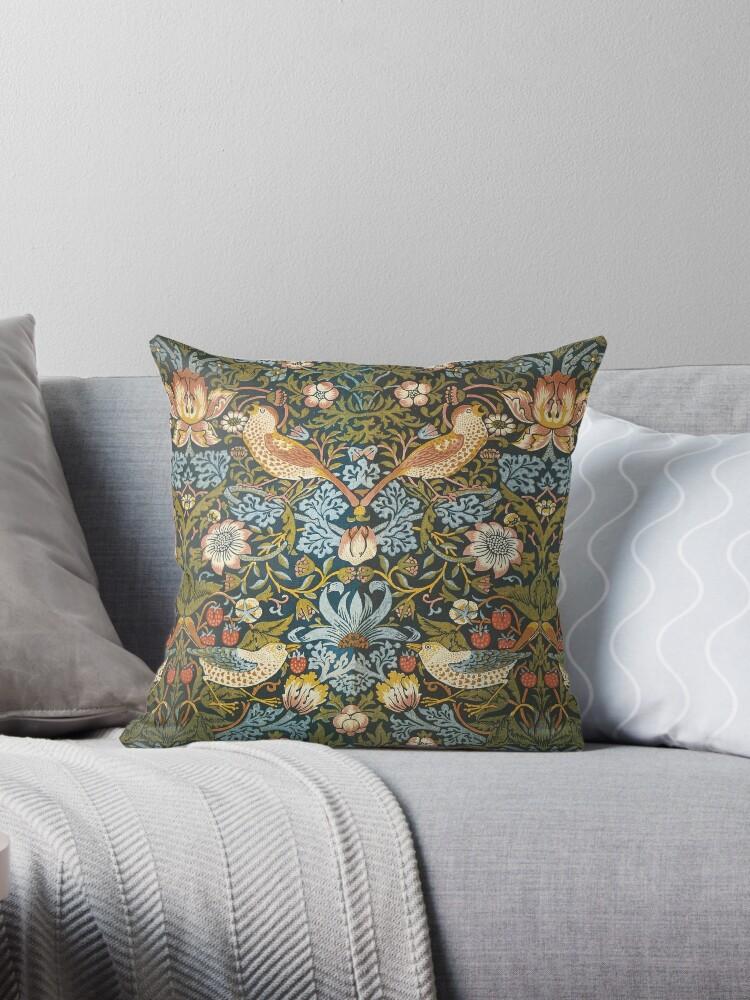 William Morris Pattern Vögel und Blumen von Greenbaby