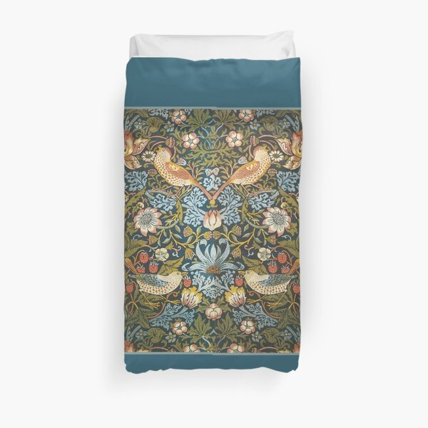 William Morris Pattern Birds and Flowers Duvet Cover