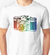 Vintage Retro Colorful Camera T-Shirt