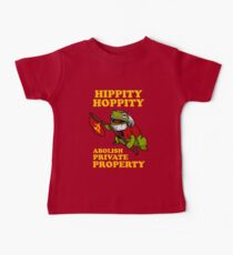 Hippity Hoppity Abolish Private Property Baby Tee