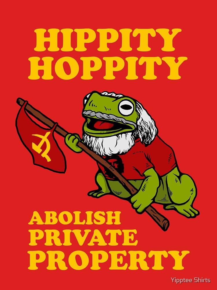 Hippity Hoppity Abolish Private Property by dumbshirts