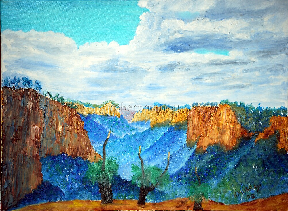 Jamison Valley ..Blue Mountain series by robert murray