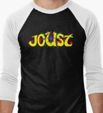 Joust Logo Men's Baseball ¾ T-Shirt