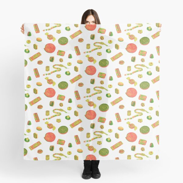 Old Fashioned Boiled Sweets: Alternate Colour by Chrissy Curtin Scarf