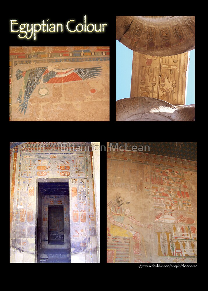 Egyptian Colour by shanmclean
