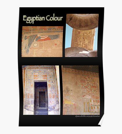 Egyptian Colour Poster