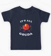 It's All Gouda Kids Tee