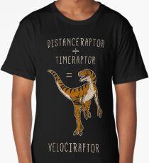 Velociraptor = Distanceraptor / Timeraptor Long T-Shirt