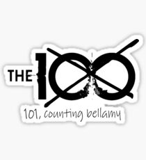 101, Counting Bellamy - (Bob Morley Charity Project) Sticker