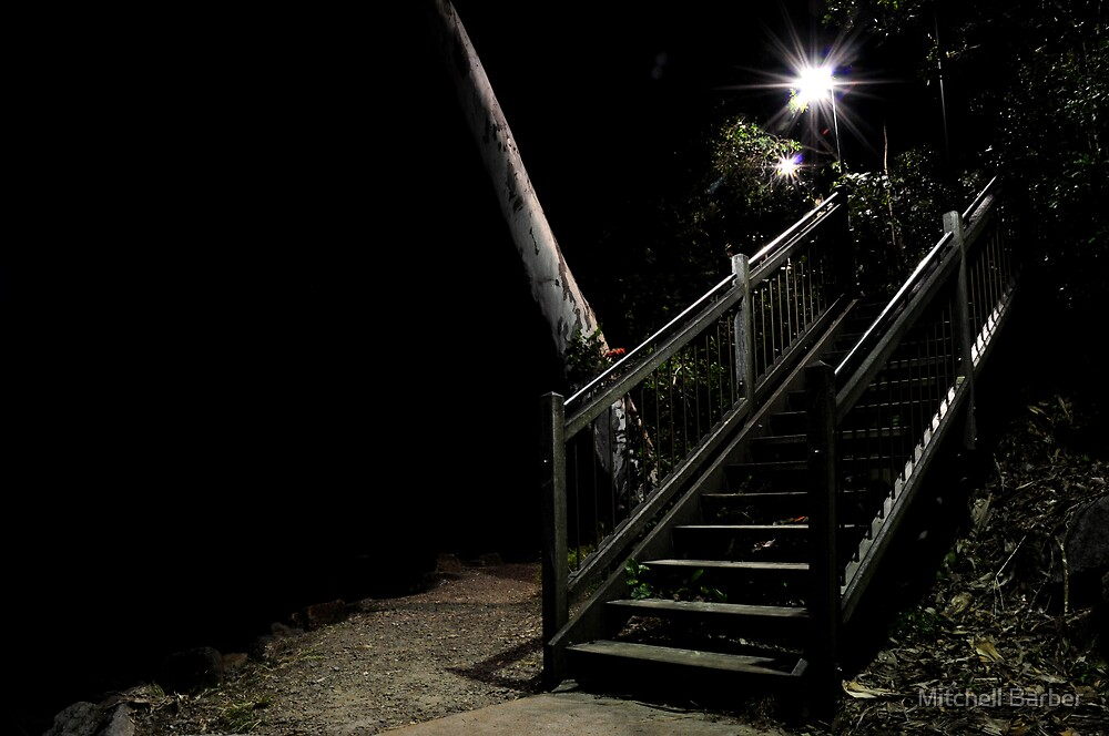 NOOSA STAIRS by Mitchell Barber