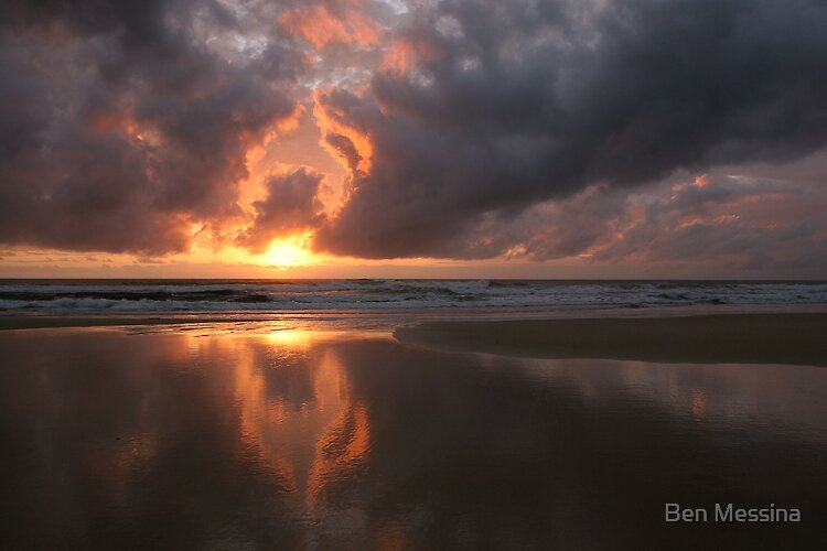 Sunrise Reflection by Ben Messina