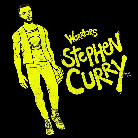 Curry - Warriors by dukenny