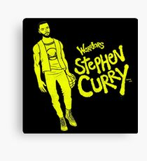 Curry - Warriors Canvas Print