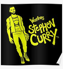 Curry - Warriors Poster
