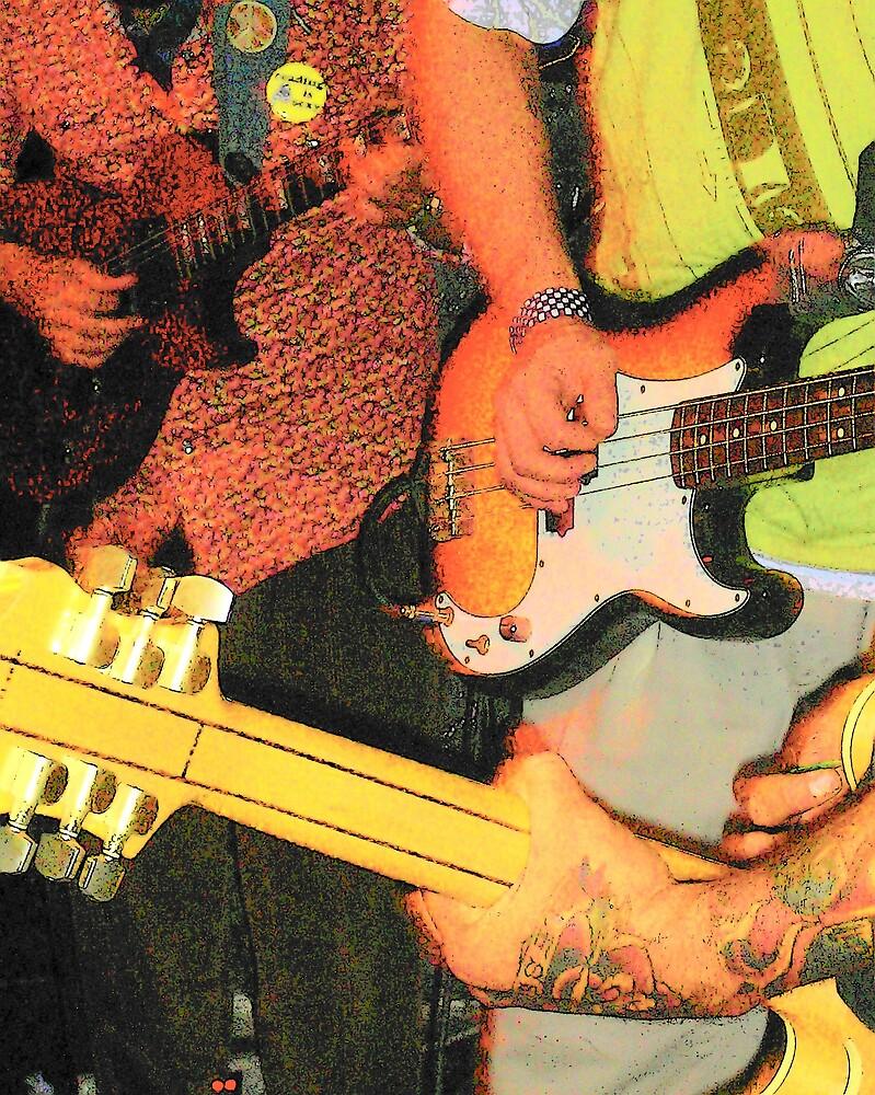 Three Guitars by clou