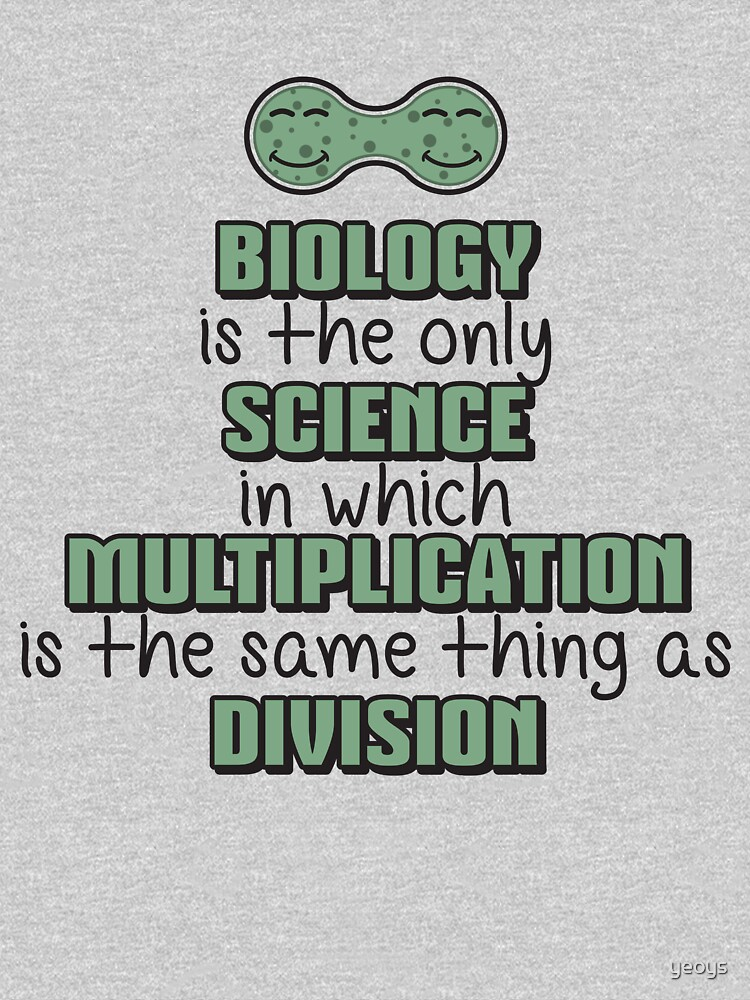 Biology ➢ Multiplication = Division➢ Funny Science von yeoys