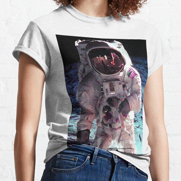 APOLLO-11 LUNAR WALK Classic T-Shirt