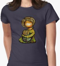 Madonna and Child TShirt Womens Fitted T-Shirt