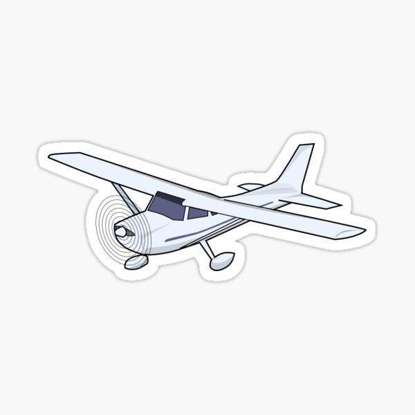 Prop Plane Sticker