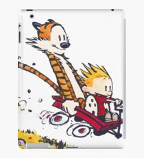 Calvin and Hobbes Red Flyer iPad Case/Skin