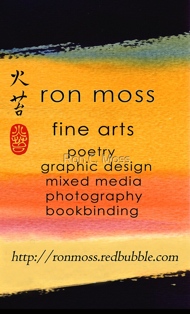 My Card by Ron C. Moss